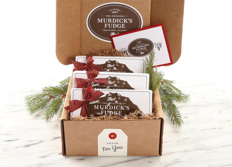 Fudge Lovers holiday gift box