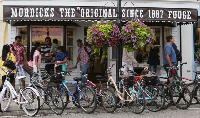 Original Murdick's Fudge has three stores on Mackinac Island. This is one of our Main Street locations.