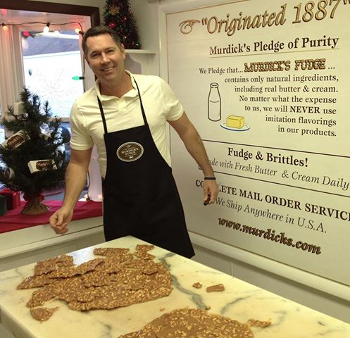 Bob Benser Jr. of Bloomfield Township owns and operates Murdick's Fudge.