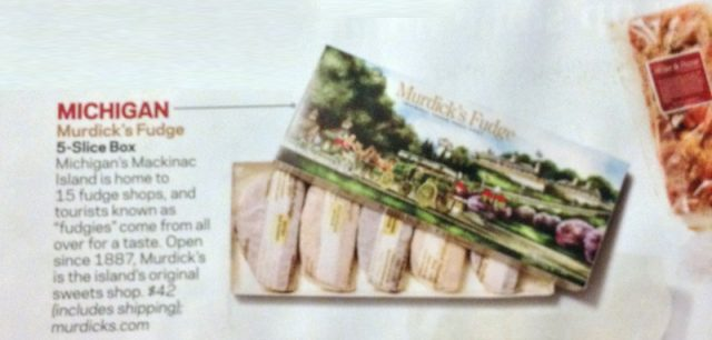 Original Murdick's Fudge featured in Food Network Magazine Holiday Issue!