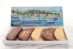 Original Murdick's Fudge five-slice box