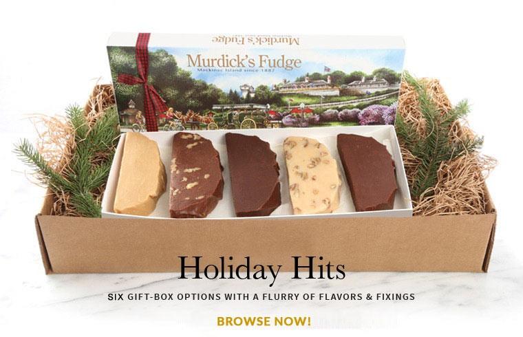 Mackinac Island Fudge Holiday Selections
