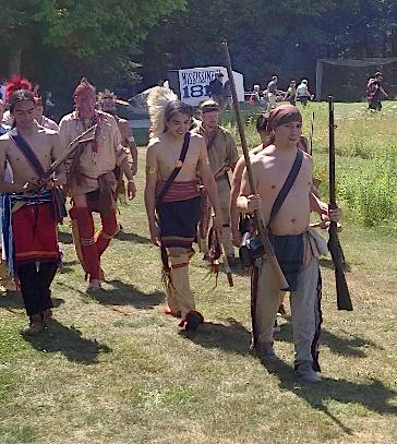 Original Murdick's Fudge War 1812 Indians