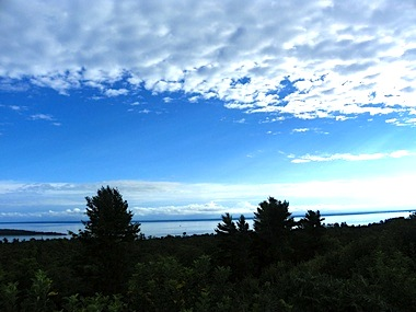 Visitors should check out the spectacular view from Fort Holmes. Courtesy of Pam Gonzalez