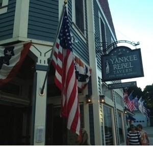 Learn how the Yankee Rebel Tavern got its name, and enjoy a pot roast slider.