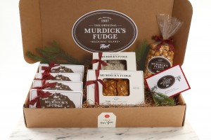 Our Murdick's Sampler holiday gift box.