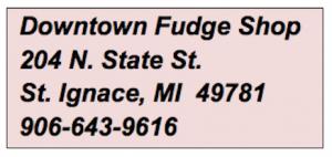 Original Murdick's Fudge St. Ignace Store