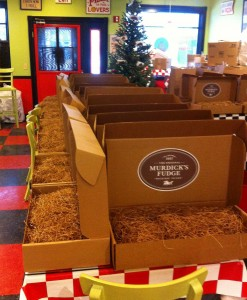 Murdick's Fudge Holiday Gift Boxes Ready