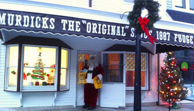 Murdick's Fudge Santa Gifts Mackinac Island