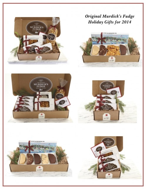 Murdick's Fudge Six Holiday Selections