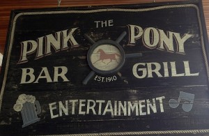 Murdick's Pink Pony Sign