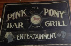Murdick's Pink Pony Sign