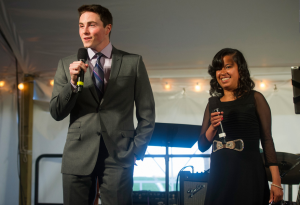 Teens who've benefitted from the C.S. Mott Children's Hospital speak at last year's event.