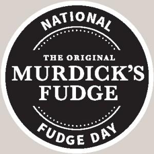 Murdick's Fudge Day Sticker