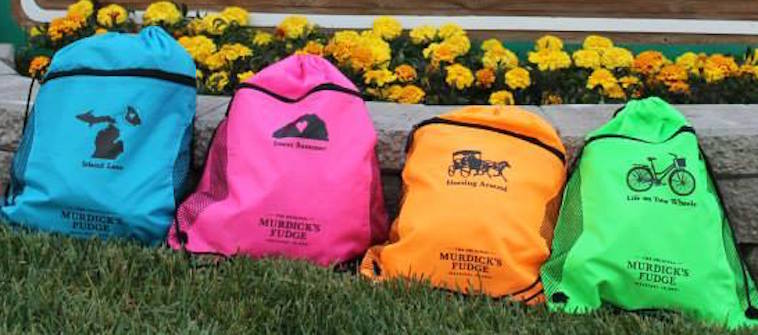 Murdick's Fudge Sling Backpacks