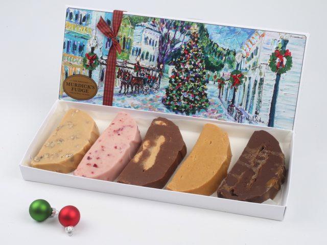 Murdick's Fudge Filve Slice Holiday Box