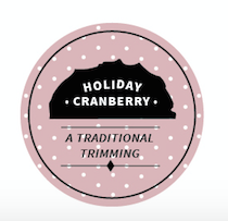Murdick's Fudge Holiday Cranberry