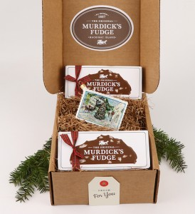 Murdick's Ornament And Fudge Gift Box