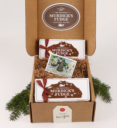 Murdick's Ornament And Fudge Pairing
