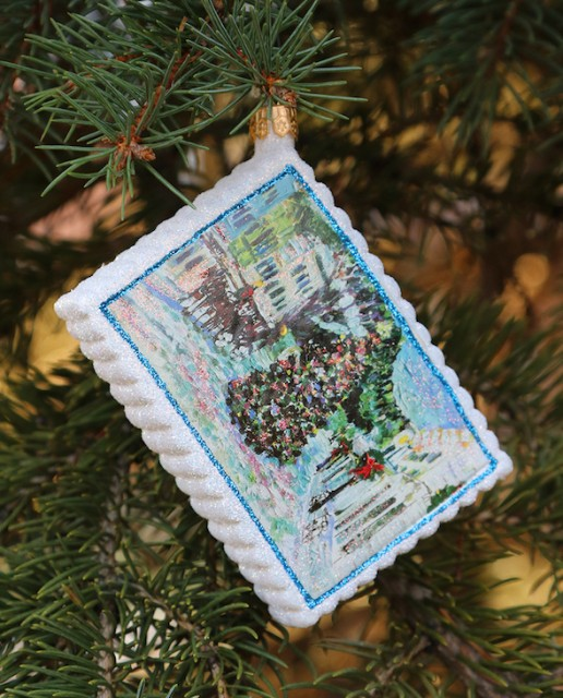 Exclusive: Murdick's Fudge Holiday Ornament Dazzles With Mackinac Island Christmas Tree And Snow Scene