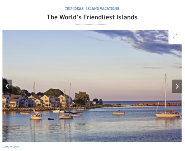 T+L Magazine Readers Pick Our Fudge-Loving Mackinac Island As The World's Friendliest Island