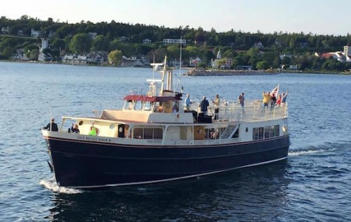 Original Murdick's Fudge Arnold Line Cruise Royale Queen III