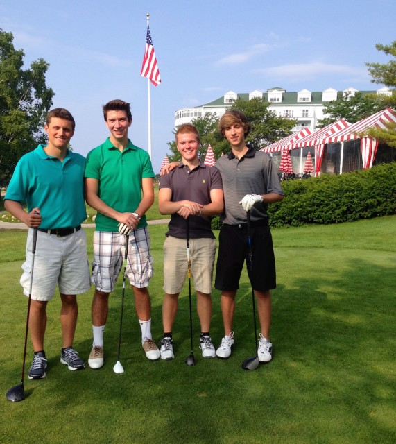 Original Murdick's Fudge Grand Hotel Golfing