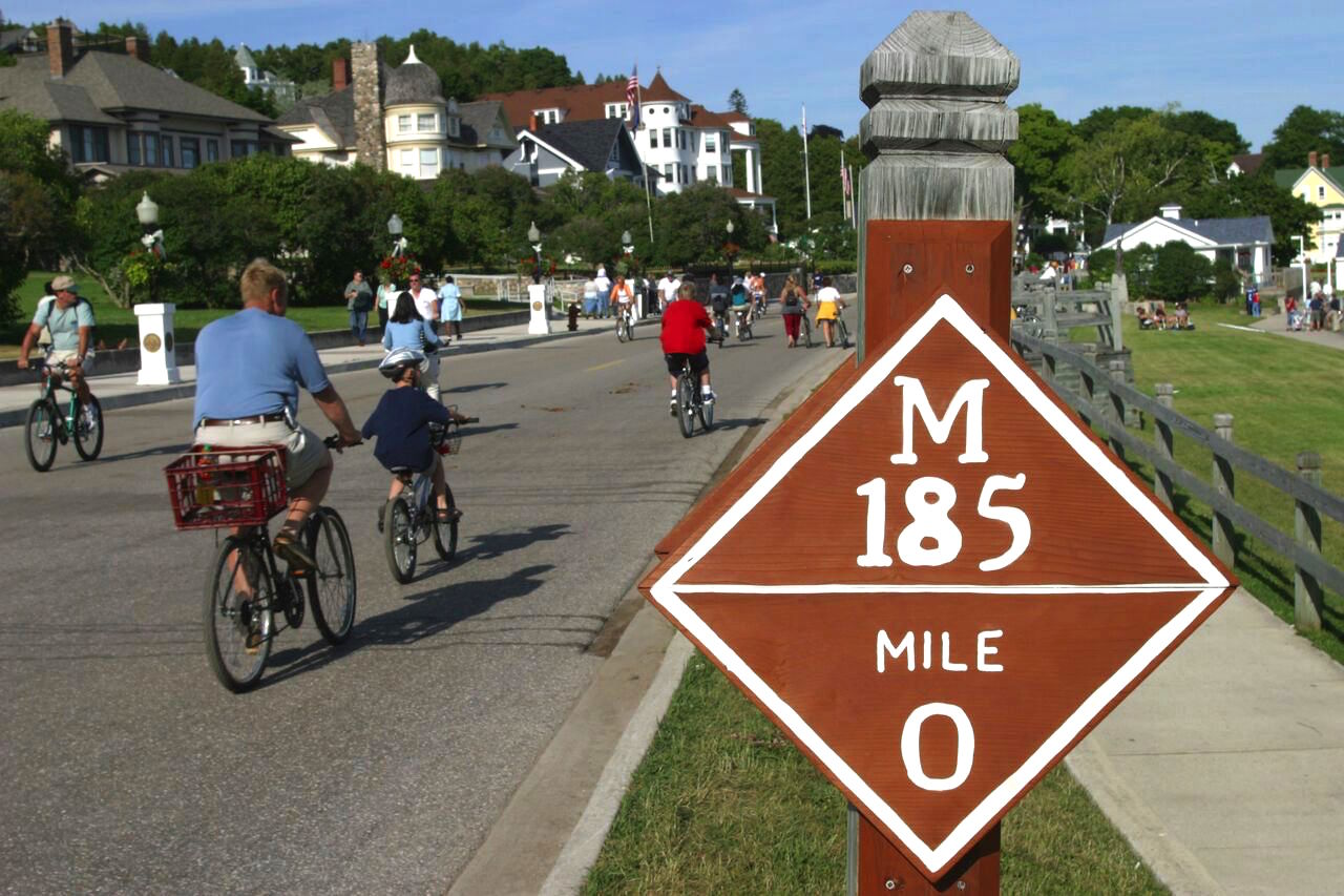 Original Murdick's Fudge Mackinac Island Biking