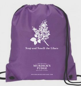 Original Murdick's Fudge Lilac Festival bag