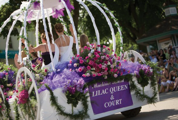 The 10-Day Mackinac Island Lilac Festival Inspires Special Murdick's Bags And Lots of Fun Activities