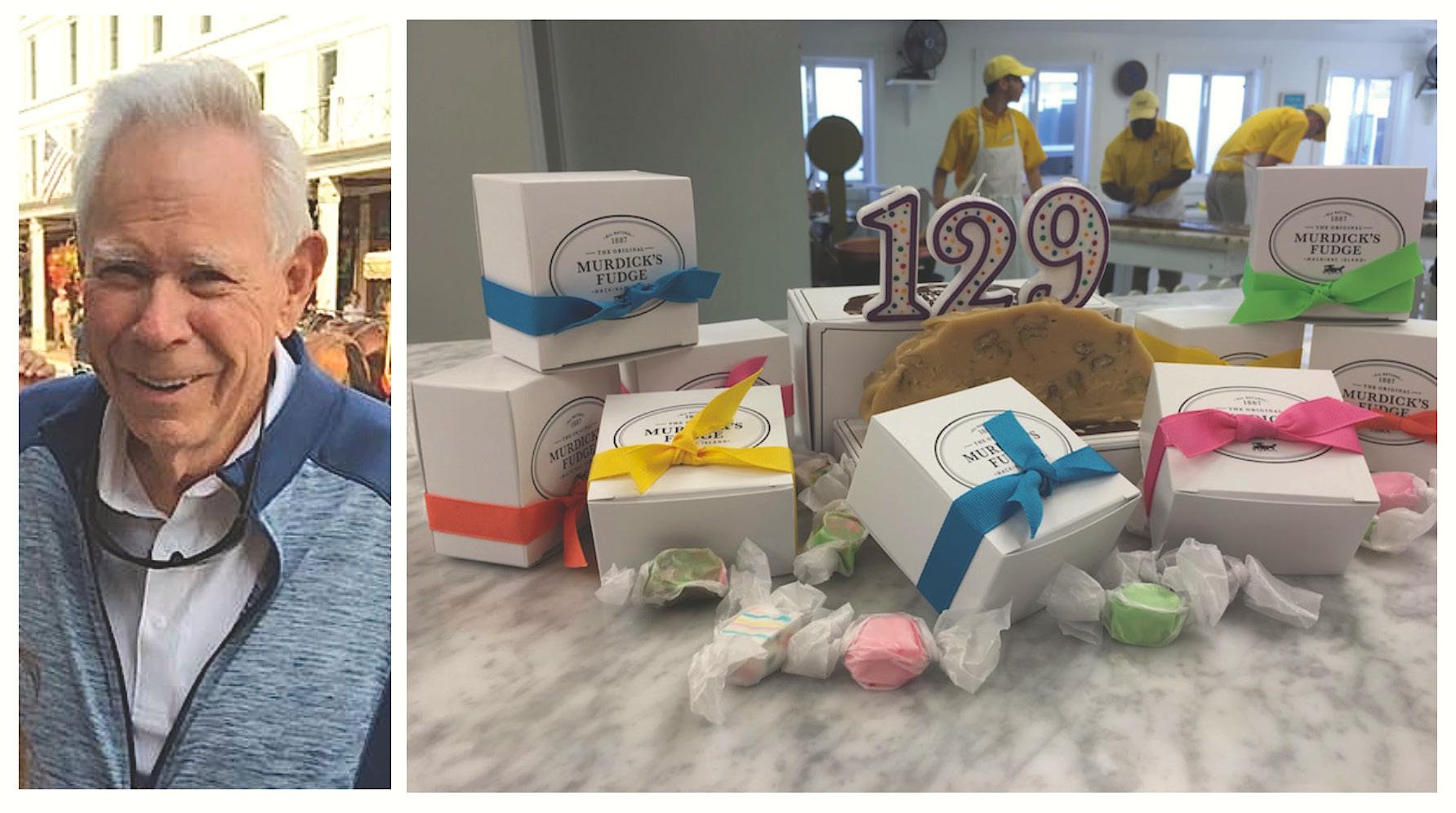 Original Murdick's Fudge Birthday Celebration