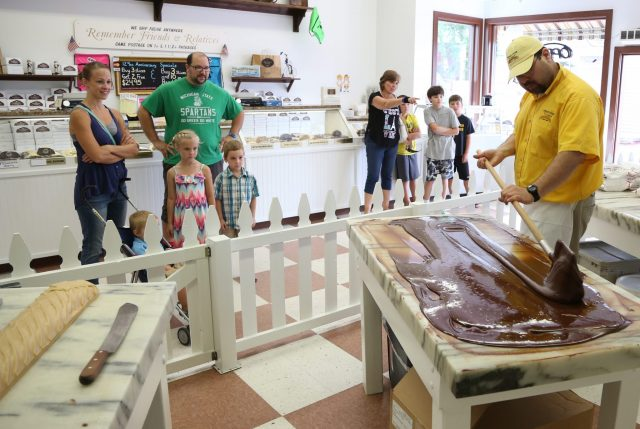 Our Mackinaw City And St. Ignace Fudge Shops Gear Up For Busy Fall Color Tour Season