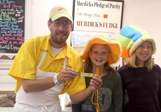 Original Murdick's Fudge Festival Golden Ticket