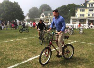 Original Murdick's Fudge Festival Slowest Bike Race