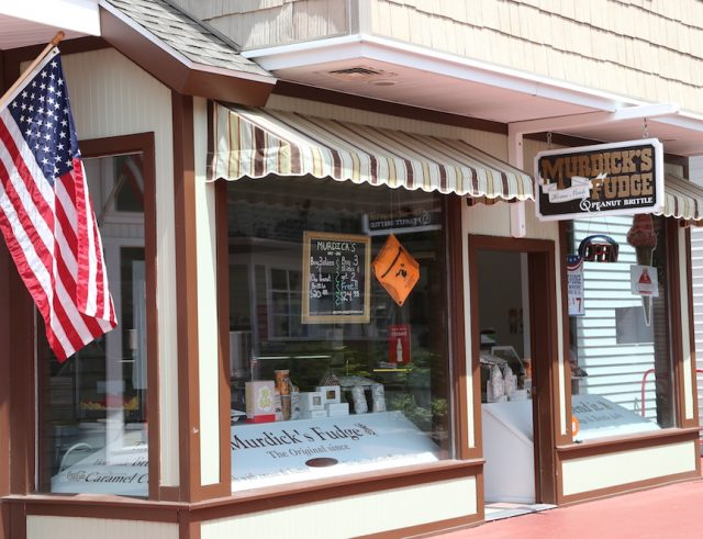Our Mackinaw City fudge store (on the right) is located inside the 30-plus store Mackinaw Crossings entertainment and shopping complex in the heart of downtown.