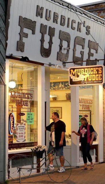 Original Murdick's Fudge St. Ignace shop