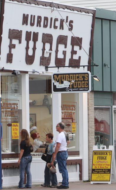 Original Murdick's Fudge St. Ignace Store Exterior