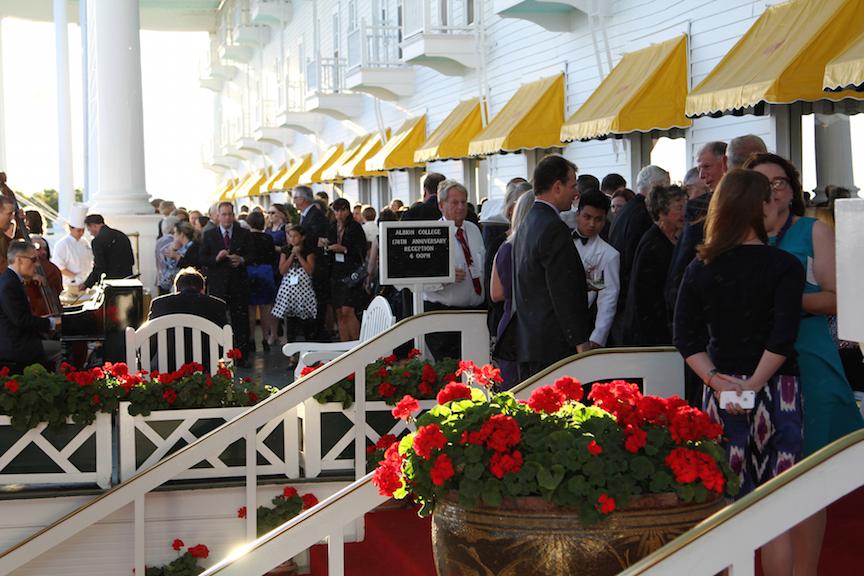 Original Murdick's Fudge Grand Hotel Albion Reception