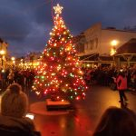 The Switch Has Been Thrown On Mackinac Island and Main Street's Christmas Tree Now Glows With Holiday Cheer
