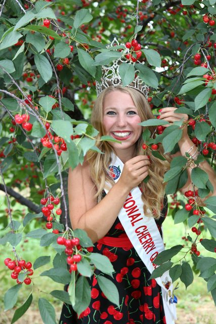 Original Murdick's Fudge National Cherry Festival Queen