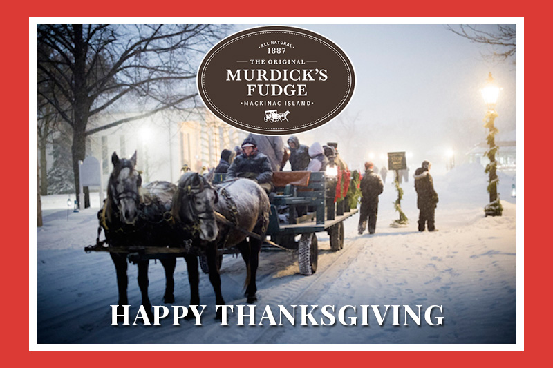 Original Murdick's Fudge Thanksgiving 2019