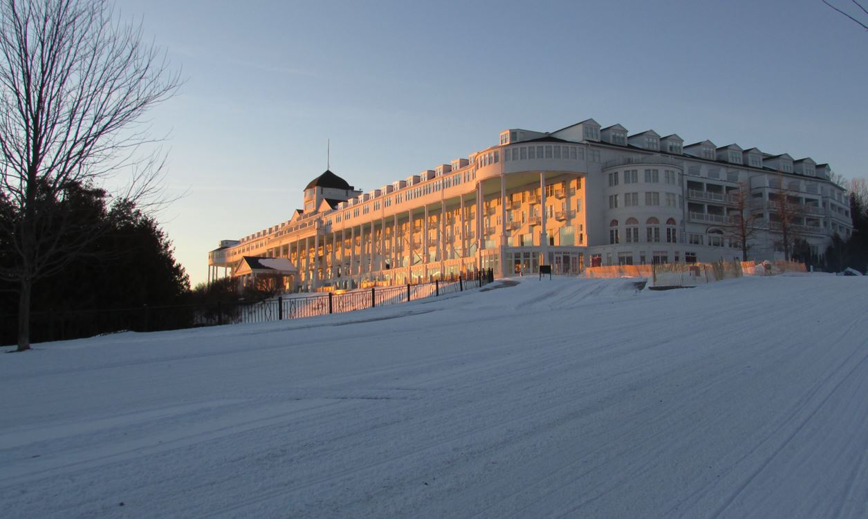 Original Murdicks Fudge Grand Hotel in Winter 2019