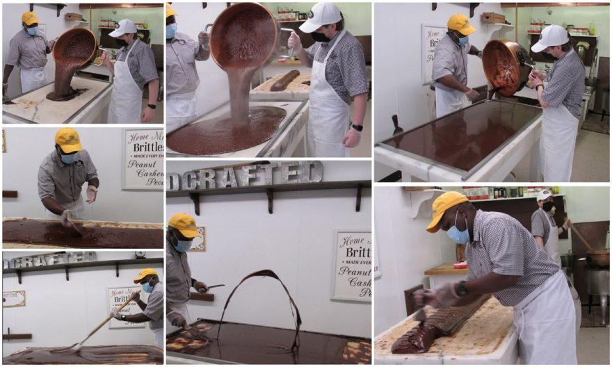 Original Murdick's Fudge Making Fudge